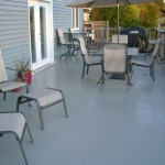 Beautiful Polyurethane Deck Coating Installed