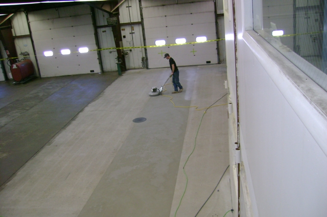 Marz mountain industries inc for Concrete floor leveling