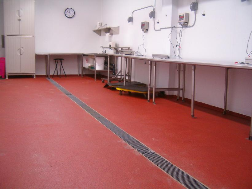 wall durex floor university flooring lab environment seamless systems