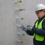 Individual capsules can be monitored to ensure resin penetration of cracks.